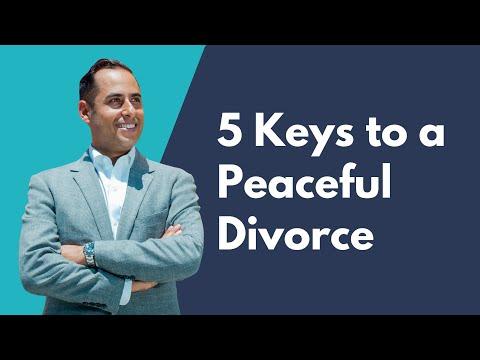 5 Keys to a Peaceful Divorce