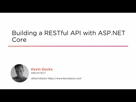 Building a RESTful API with ASP NET Core | Pluralsight