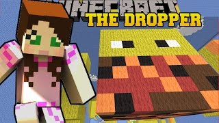 Minecraft: FALLING ONTO GIANT MOBS! - TALLCRAFT DROPPER - Custom Map
