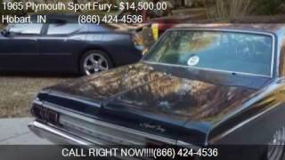 1965 Plymouth Sport Fury  for sale in Hobart, IN 46342 at Ha