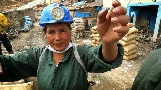 Как добывают серебро в Потоси, Боливии - Попробуй! ЮА(Мы решили посмотреть как добывают серебро в Боливии. Для этого мы специально приехали в один из самых высок..., 2012-02-27T09:05:39.000Z)