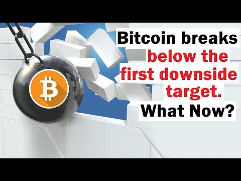 Bitcoin Hits First Downside Target... What's Next?