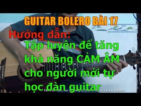 Phương pháp tập luyện để tăng khả năng cảm âm cho người mới tự học đàn guitar - Bài 17