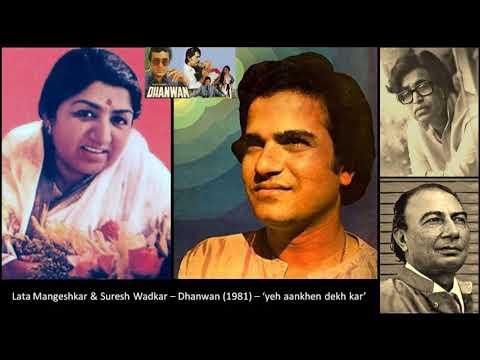 Lata Mangeshkar & Suresh Wadkar - Dhanwan (1981) - 'yeh aankhen dekh kar'