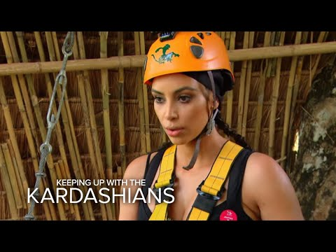 KUWTK | Kim Kardashian's High-Flying Freak-Out | E!