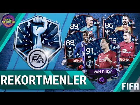 3 REKORTMEN ÇIKTI! REKORTMENLER PAKET AÇILIMI! #2 FIFA MOBILE 18