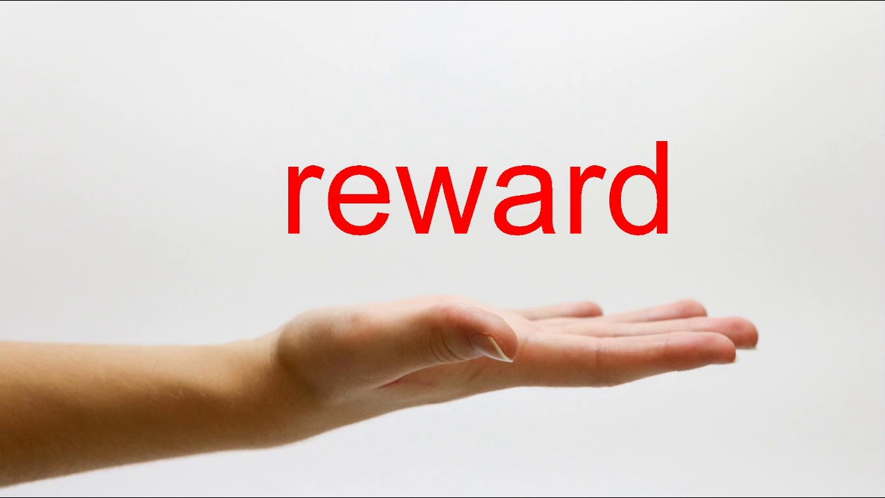 How to Pronounce reward - American English - YouTube