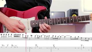 Comfortably Numb Solo 2 - Lesson - With Tabs