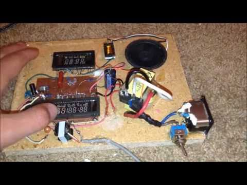 VFD Amp: An Amplifier Built From Old VCR Screens