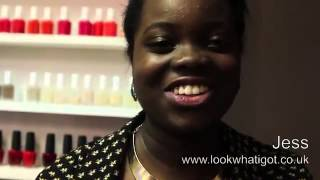Jess from lookwhativegot com  London talk 'tans for black and brown skin' with Abi O Thumbnail