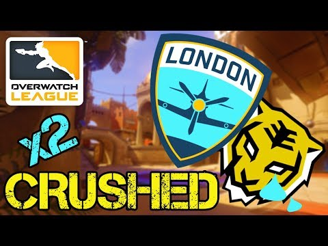 How London Spitfire Crushed Seoul Dynasty AGAIN - Overwatch League Match Analysis