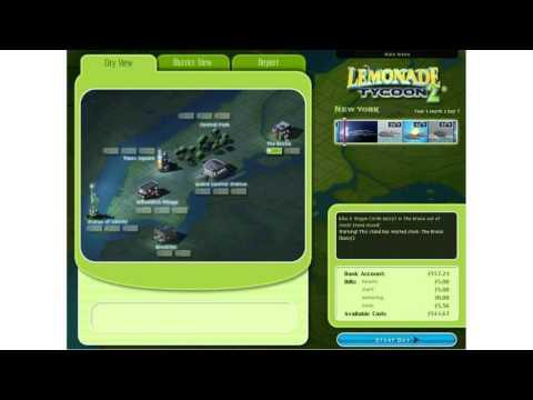 Lemonade Tycoon IP - YouTube