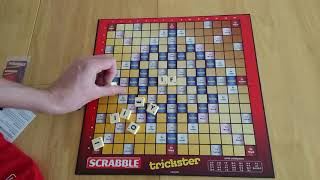 Trickster Scrabble board game - how to play and review * Amass Games *
