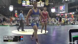 220 Champ. Round 1 - Jordan Wood (Pennsylvania) vs. James Sullivan (Hawaii)