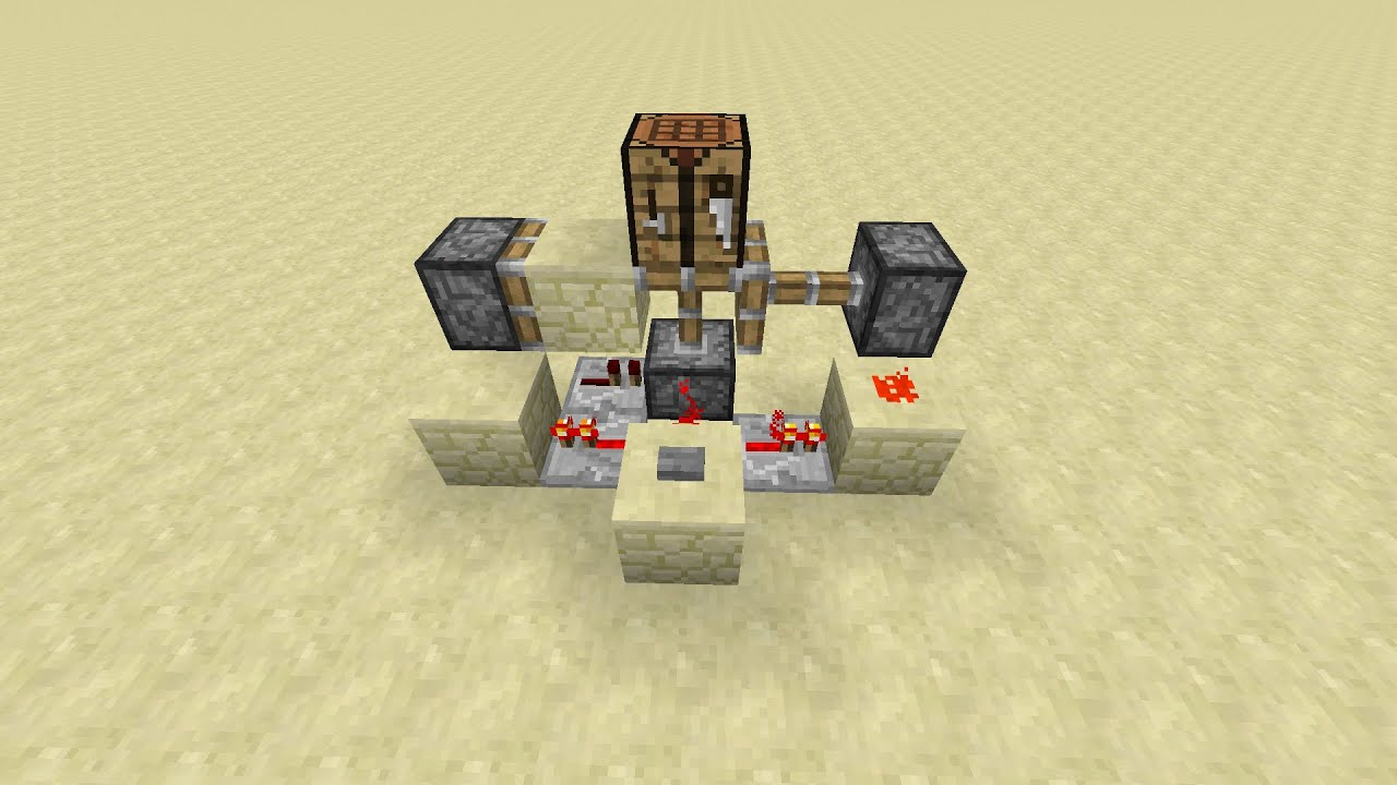 Minecraft Tutorial Compact And Fast Floor Block Swapper Youtube