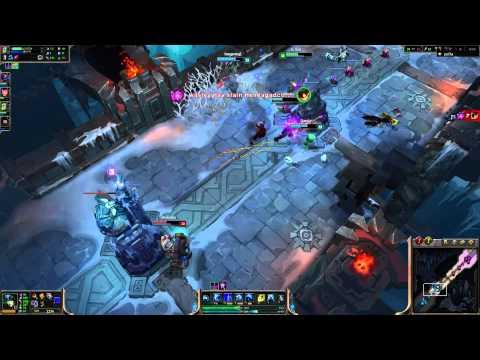 League of Legends - ARAM -- Nami with paOla (Garen)