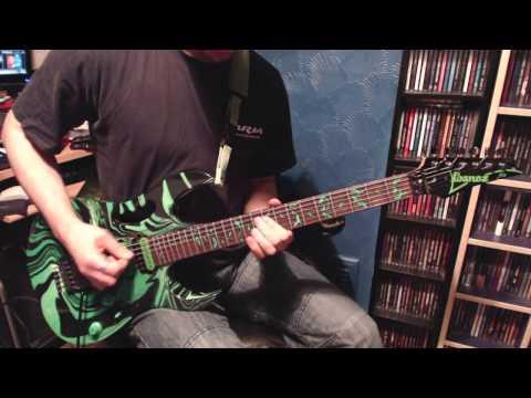 Steve Vai - Juice (Guitar solo cover)