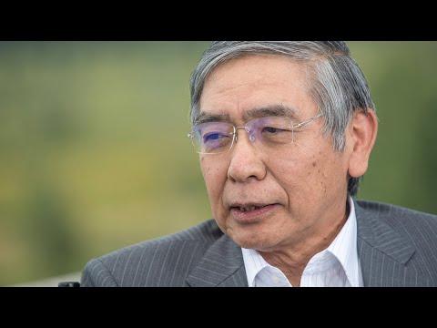 BOJ's Kuroda Says 4% Growth Won't Be Sustained