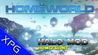 Homeworld - Halo Mod Spotlight - Homefront (Epic Space Battles with MAC Cannons)