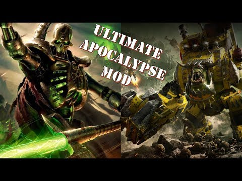 Ultimate Apocalypse Mod: Masssive Ork vs Necron Engagement in the Dead of Winter
