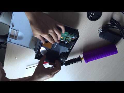Clean the UC40 lens dust