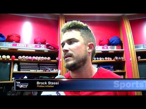 Brock Stassi on his 1st MLB Season