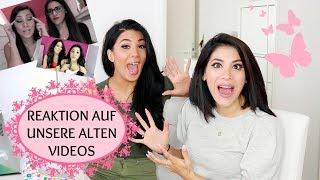 Reaktion auf UNSERE ALTEN VIDEOS mit Soraya Ali I Sevins Wonderland