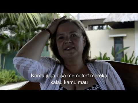 Isabelle Surabaya Eitmann supports Elementary School in Lombok