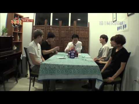 Sungkyu 'Fluttering India' funny scenes (Part 1)
