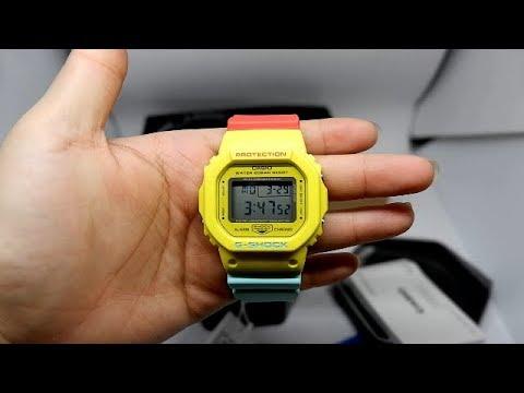 50526a18dfe CASIO G-SHOCK DW-5600CMA-9 ORIGINAL UNBOXING - YouTube