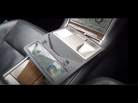 Jaguar xf interior roof light fix.