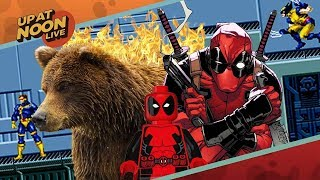 Deadpool Animated Series Cancelled and X-Men's Shaky Future - Up At Noon Live!