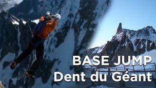Dent du Géant voie normale Base Jump alpinisme Chamonix Mont-Blanc - 7734