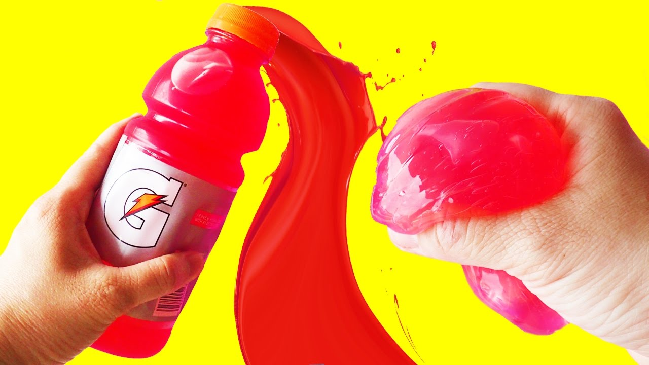 Diy slime with gatorade challenge how to make slime without borax diy slime with gatorade challenge how to make slime without borax by bum bum surprise toys youtube ccuart Images