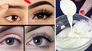 Homemade Gel To Grow Thicker Eyebrows & EyeLashes in Just 3 Days - Guaranteed Results 100% Effective