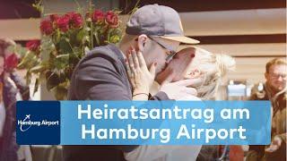 Fünf Hinweise und ein Antrag - Heiratsantrag am Hamburg Air...
