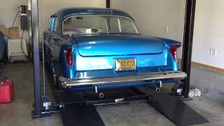 1956 Chevy, Miss Taboo cold start