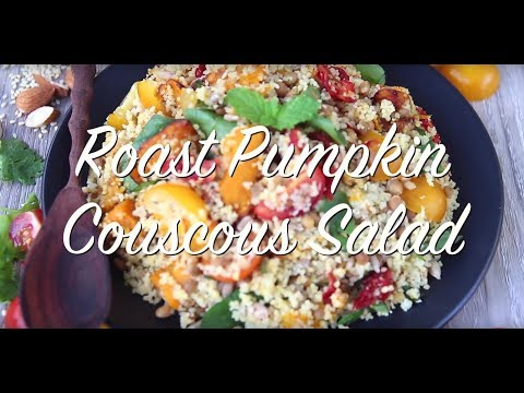 Roast Pumpkin, Lentil & Couscous Salad