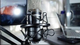 neewer nw 700 microphone kit review and audio test