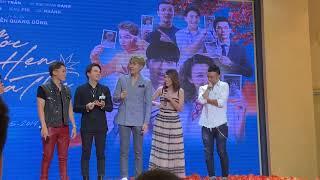 Hoàng Oanh, Kay Trần, Duy Khánh, Yoon Trần và Hoàng Phi quậy tưng tại showcase Ước hẹn mùa thu