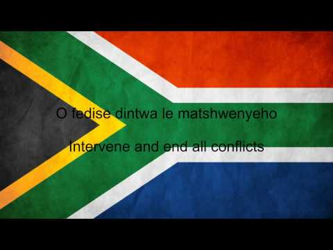South Africa National Anthem English lyrics