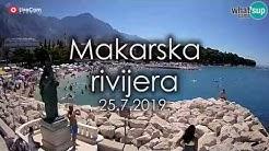 Makarska rivijera, najljepše plaže, ljeto 2019.