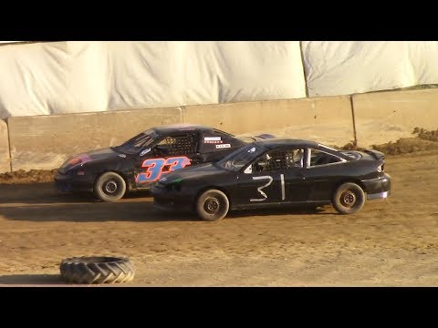 Kids Class Mini Stock Heat | Old Bradford Speedway | 6-11-17