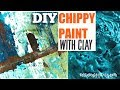 How to get a chippy paint finish & the story of how I opened my Store