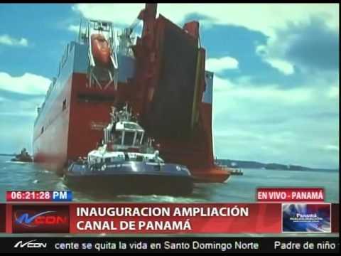 Discurso de Jorge Quijano administrador Canal de Panamá (PARTE 1)
