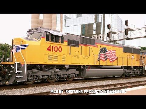 Railfanning Dallas Texas: Video 5 of 5: Part 1 of 2.