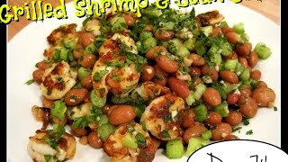 Trying Laura's Grilled Shrimp & Bean Salad [day 74]