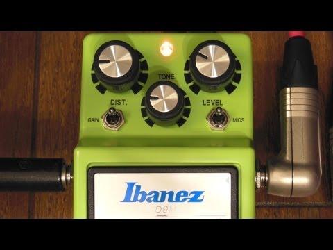 Ibanez SD9M Quick Testing②