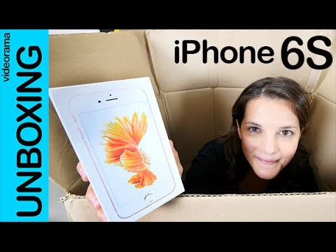 Apple iPhone 6S unboxing en español