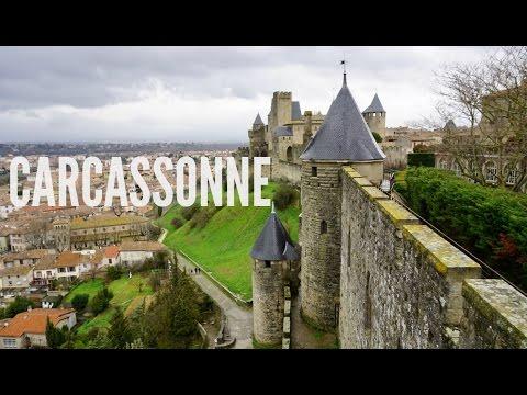Castillo medieval de Carcassone y Basílica Saint-Nazaire (Francia)   Noe and Carl